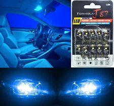 Canbus Error LED Light 168 Blue 10000K Ten Bulbs Front Side Marker Upgrade OE