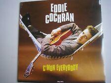 EDDIE COCHRAN C'Mon Everybody LP 2017 180g new mint sealed