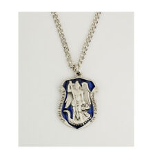 Police Officer's Necklace with St. Michael Medal, Free Prayer Cards and Magnet