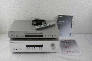 Receiver Yamaha R-S202D & Compact Disc Player Yamaha CD-S300