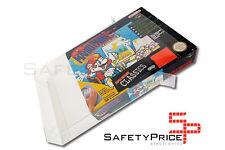 10x Funda protectora de cajas juegos Super Nintendo SNES N64 Box Protector Cover