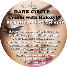 DARK Circle Cream For Eyes with 3% Haloxyl® and 1% Caffeine