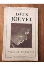 Louis Jouvet, Notes et documents (1887-1951) Collectif