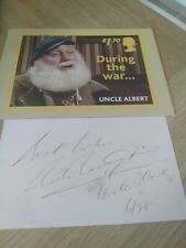 More details for buster merryfield authentic ofah white card and rare postcard