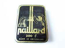 Grammophon NADELDOSE PAILLARD gramophone needle tin