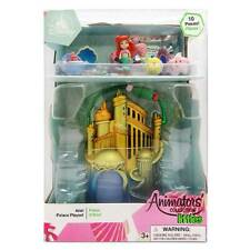 Disney Animators' Collection Littles Ariel Palace Play Set Little Mermaid New