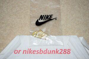 Nike Air Max 97 SWOOSH GOLD Enamel Pin Authentic