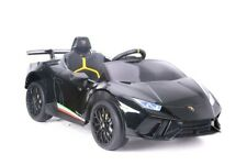 Kinder Elektro Auto Lamborghini Huracan schwarz, EVA, Leder etc.! Neu & Ovp!!