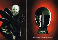 PUBLICITE ADVERTISING 094  1993  PIERRE CARDIN  parfum pour homme ENIGME ( 2pa