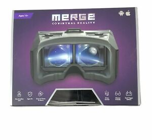 Merge 360 VR and AR Virtual Reality Goggles - Pulsar Purple