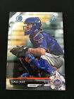 TOMAS NIDO ROOKIE BOWMAN CHROME 2017 NEW YORK METS RC BASEBALL CARD. rookie card picture