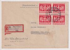 Gemeinsch.Ausg. Mi. 969/4er, Not-R-Messe-Laatzen/SST Hannover 26.5.48