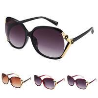 Women Oversized Sunglasses UV400 Huge Shades Retro Round Eyewear 2019  Fy