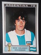 Panini 108 Rene Orlando Houseman Argentina WM 78 World Cup Story