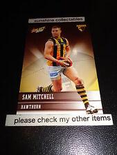 2012 SELECT AFL CHAMPIONS BASE CARD NO.115 SAM MITCHELL HAWTHORN