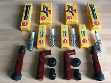 HONDA CB1100 RB2-RD2 DOHC 1980-1983 NGK SPARK PLUGS AND CAPS FREE POST!