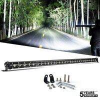 6D Slim 44INCH 1140W CREE LED Light Bar Flood Spot Combo For Offroad Truck 4WD