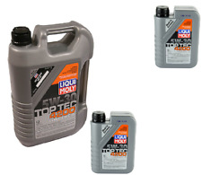 7 Liters Liqui Moly TOP TEC 4200  5w30 Synthetic Engine Motor Oil for Nissan
