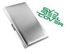 GYD STEEL Cover Chrom Zigarettenetui Zigaretten  Aluminium für 10 Zigarette 1