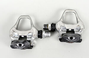 Shimano 105 PD-5700 SPD-SL Clipless Road Bike Pedals - Silver