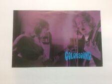 Colorsound Catalog Flyer Ad Rare Vtg Pedal Display Paper Music Room Studio