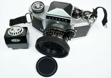 Exakta TL VX1000 With Two TL Prisms Light Meter And Lens.
