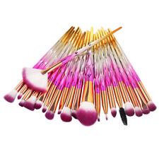 Unicorn Kabuki Makeup Brush Set Cosmetic Foundation Powder Brushes Kit Rose Gold