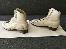 Sp-Teri #30 Ice Skates Boots Only . No Blades. Size 3.5 Aaa Collectible Vintage