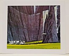 "Ralph McQuarrie Battlestar Galactica Art Print #17- Carillon Livery Ship 11""x13"""