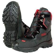 More details for oregon yukon class 1 leather chainsaw protective boots - various sizes
