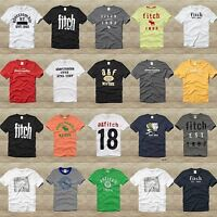 ABERCROMBIE KIDS BOYS TEE SHIRT sizes S, M, L, XL NWT RED,GRAY,BLUE,WHITE, GREEN
