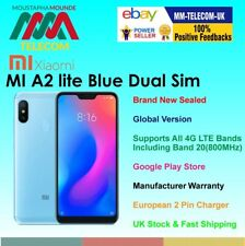 BRAND NEW SEALED FACTORY UNLOCKED XIAOMI MI A2 LITE 64GB BLUE DUAL SIM GLOBAL