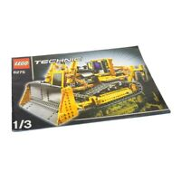 1x Lego Technic Bauanleitung A4 Heft 1 Model Construction Bulldozer 8275