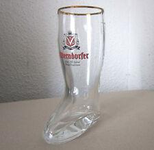BIERSTIEFEL Oberndorfer Bier 150 Jahre 0,3 l Rastal facettiert Bierglas Glas gut