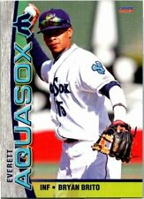 2013 Choice Everett Aquasox Minor League Baseball - Pick Choose Your Cards
