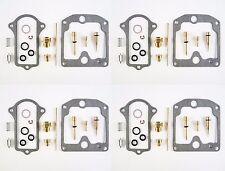 4 Pack Suzuki Carburetor Rebuild Carb Repair Kit GS550 GS-550 GS 550 550E GS550E