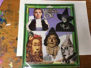 The Wizard Of Oz Five Magnet Set, Mega Mags, Collectable