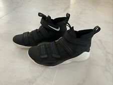 Size 13 - Nike LeBron Soldier 11 Black And White