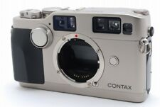 Contax G2 35mm Rangefinder Film Camera Body Only **Shutter Problem** For Parts