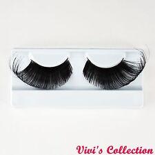 Vivi's Collection Dramatic Eyelashes False Fake Eye Lashes Halloween Fancy Dress