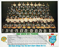 1982 GREEN BAY PACKERS NFL FOOTBALL TEAM 8X10 PHOTO