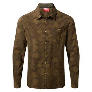 New Craghoppers Nosilife Lester L/S Woodland uk XXL Shirt BNWT