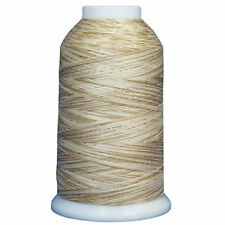Superior King Tut 40 wt Variegated Cotton Thread #920 Sands of Time 2000 yd cone