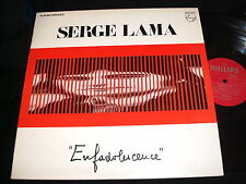SERGE LAMA<>ENFADOLESCENCE<>2x33 Rpm Vinyl~Canada Pressing<>PHILIPS  6641 844