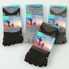 Nwt 5prs Outdoor Running Biking Hiking Skiing Men's Five Toe Sports Socks Shoes