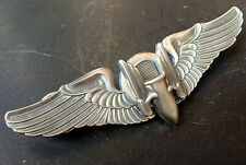 """ARMY AIR FORCES 3 INCH GUNNER WING """"WINGED BULLET"""""""