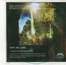 (DL477) Vinyl Williams, Higher Worlds - 2012 DJ CD