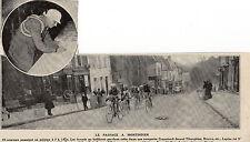 80 MONTDIDIER COURSE CYCLISTE  TIBERGHIEN CRUPELANDT LAPIZE BROCCO IMAGE 1912