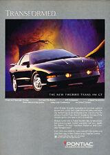 1994 Pontiac Firebird Trans Am GT - Rock - Classic Vintage Advertisement Ad D68