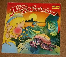 LP Alice im Wunderland Die Lebensgeschichte einer Suppenschildkröte Auditon